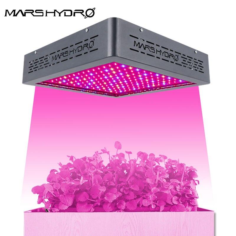 Atualizado Mars II 900 W Cresce A Luz LED Lâmpada Para plantas de Interior Plantas Hidroponia Veg & Bloom Switches Sistema Jardim crescer luz planta