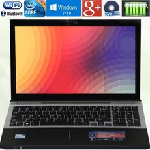 8GB RAM+2000GB HDD Intel Core i7 Dual-core 15.6″1920X1080P Windows 7/10 Notebook PC Laptops Computer with DVD-RW For Office Home