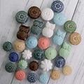 Boutons en céramique de style antique | Assortiment de boutons multicolores pour armoire  tiroirs de commode  poignées d'armoire en céramique  tire boutons de Perillas