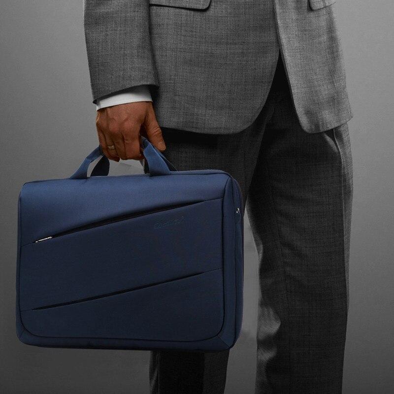 CoolBell moda 17,3 pulgadas ordenador portátil 17 ordenador portátil bolsa de mensajero impermeable hombro bolsa hombres mujeres maletín - 4