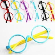 7b851915c5 2 Pcs Lovely Kids Glasses Funny Glass Toys for ChildrenRound Baby Glasses  Frame Funny Game Kawaii Birthday Gifts Color Randomly
