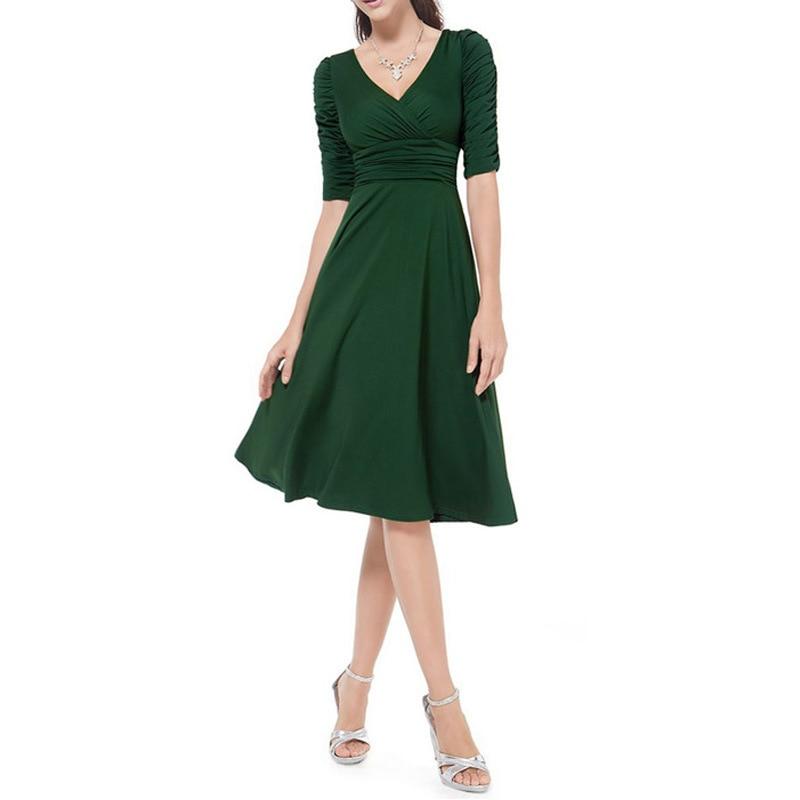 Dámské pracovní šaty plus velikosti Vintage styl Swing 1950s 60s - Dámské oblečení