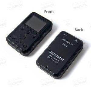 Image 2 - Музыкальный плеер ZIKU, профессиональный MP3 плеер, HIFI, DSD, DAP, DAC, CS4398, ATJ2167, поддержка усилителя для наушников, DSD256 X9