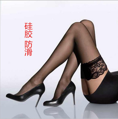 New Women's Stockings Girls Female Sexy Stocking Hose Appeal To Fix The Leg Show Thin Lace Sexy Stockings Hose