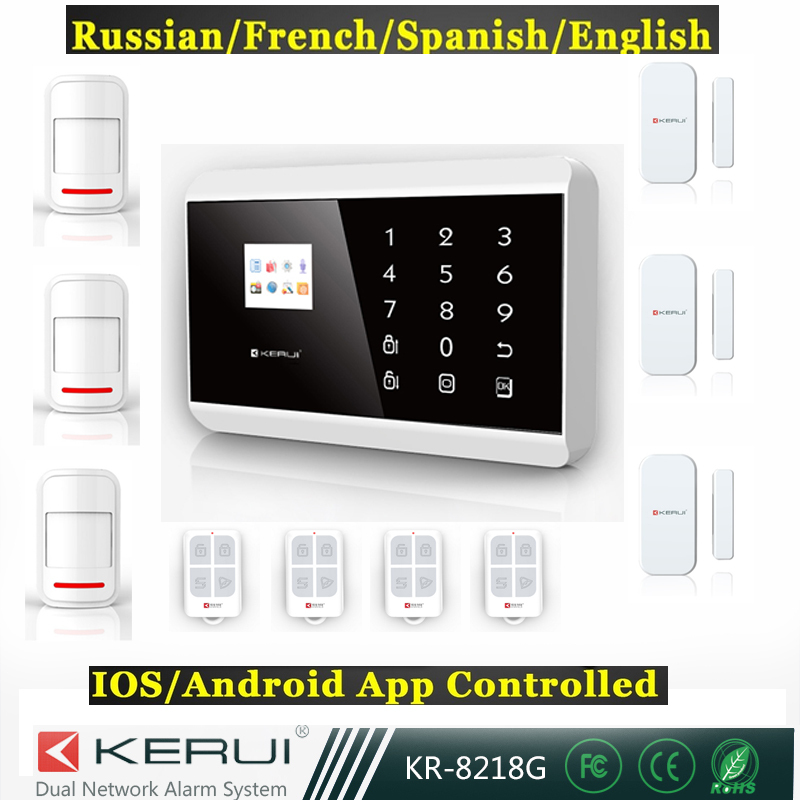 Free shipping  Intercom home security wireless GSM alarm system support Russian Spanish French language 2016 rain proof gsm taxi freephone gsm help point handsfree intercom