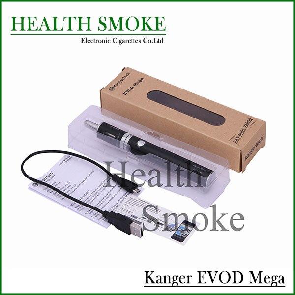 Подлинная новые поступления Kanger Evod мега металла электронная 1900 мАч аккумулятор новые электронные сигареты стартовый комплект бесплатная доставка