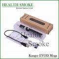 Genuino nuevas llegadas kang Evod Mega metal cigarrillo electrónico 1900 mah batería más nuevo e cig Starter Kit envío gratis