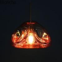 Modern Tom Dixon Lava Pendant Lights Melt Glass Led Hanging Lamp Industrial Luminaire Dining Room Kitchen Home Decor Fixtures