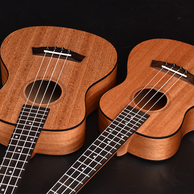 Soprano Concert Tenor Ukulele 21 23 26 Inch Hawaiian Guitar 4 Strings Ukelele Guitarra Black EdgeMahogany Uke Handcraft Wood concert ukulele 23 inch hawaiian guitar 4 strings ukelele guitarra handcraft zebra wood musical instruments uke