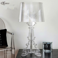 Modern Table Lamps For Living Room Home Led Desk Lamp Bedroom Study Reading E27 Acrylic
