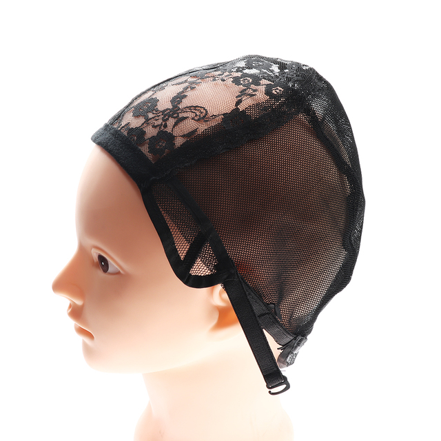 1 Pc Lace Mesh Full Wig Cap Hair Net Weaving Caps For Making Wigs
