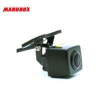 Камера заднего вида для автомобиля, Автомобильная камеразаднего/переднегообзора Marubox M184, камера заднего вида универсальная имеет прочный металлический корпус с классом защиты IP67 и угол обзора камеры 170°