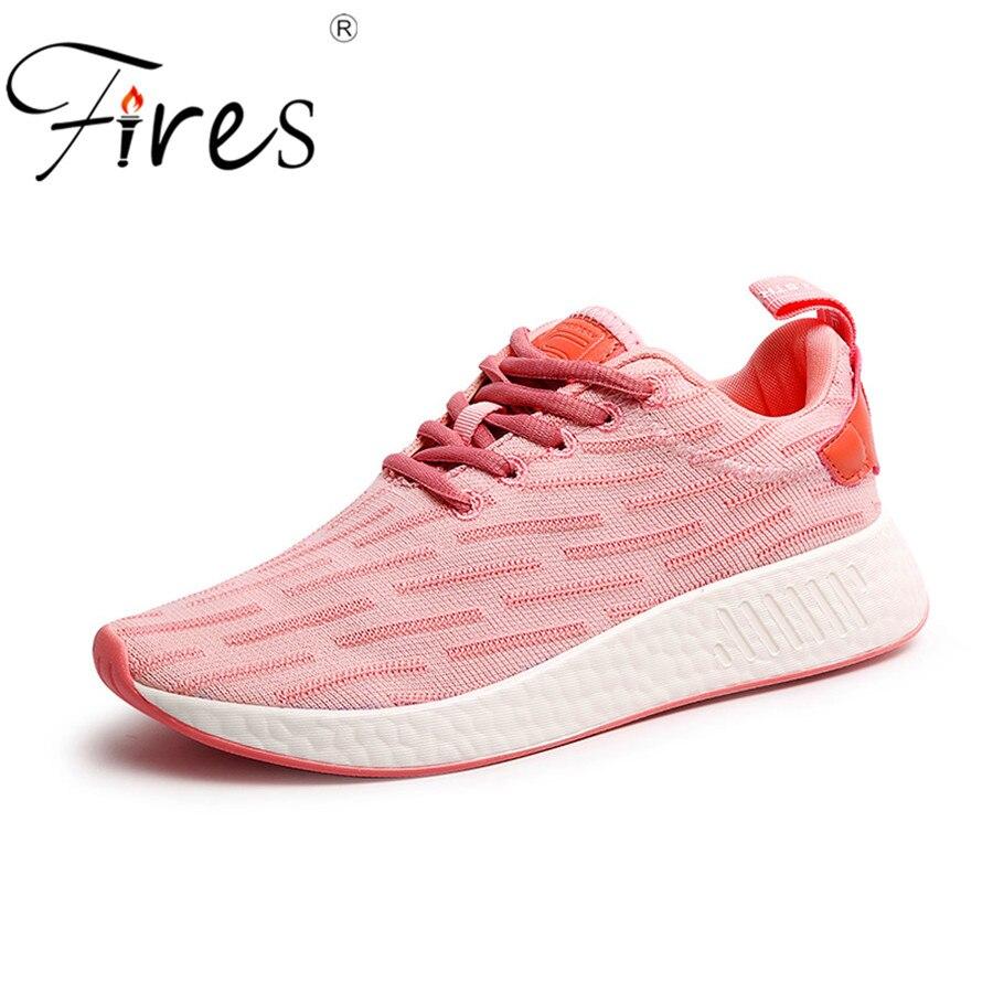 Brande Brand Sneaker Kvinder Pude Sportssko Udendørs Breathable Sport Løbesko Zapatilla Mujer Summer Training Shoes