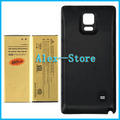 Back Door Cover + High Capacity 8000mAh Business Replacement Mobile Phone Battery For Samsung Galaxy Note 4 / N9100 (Black)
