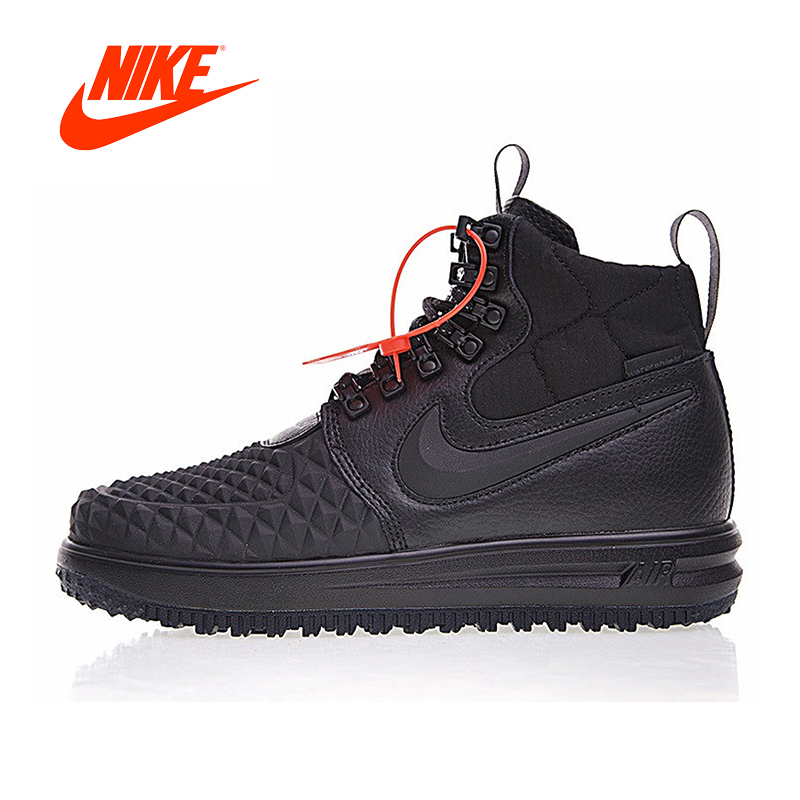 Original New Arrival Authentic Nike LUNAR FORCE 1 DUCKBOOT '17 Men's Skateboarding Shoes Sport Outdoor Sneakers 916682 002