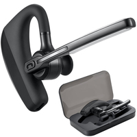 Bluetooth Headset K10 Draadloze Oortelefoon Hoofdtelefoon met Mic 9Hrs Spreektijd Handsfree voor Rijden voor iPhone en Android