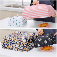Folding Dish Cover Kitchen Insulation Food Umbrella Home Dust-Proof Anti-Fly x