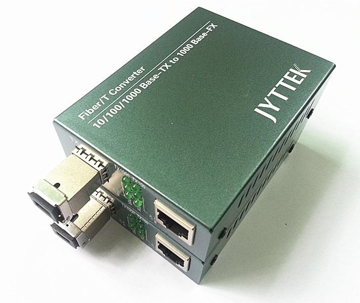 1,25G SFP Fiber Media Converter, 10/100 / 100M SFP Fiber Media Converter, Vanjski PSU SC, jedno vlakno