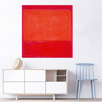 For Home decor Christmas gift Frameless Mark Rothko Abstract handmade Oil Painting on Canvas American Style canvas painting