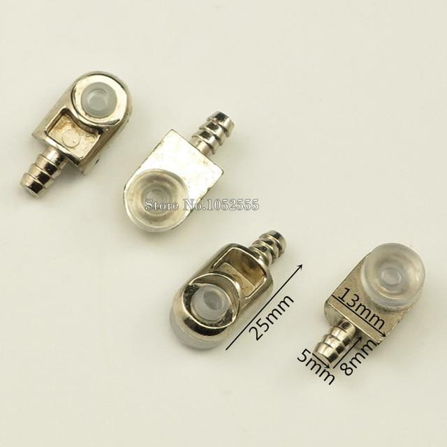 100 PCS 5mm * 25mm Metall Regal Unterstützung Halter Halterung Glas ...