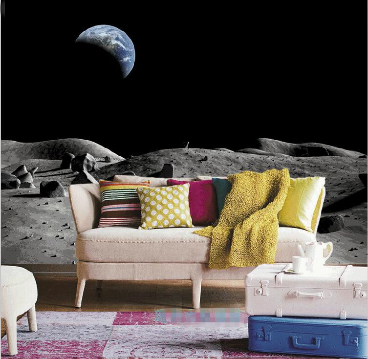 Online get cheap space wall murals for Custom mural cost