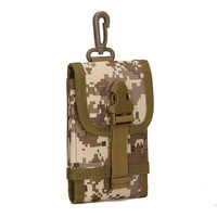 Unisex Tactical Military Fans Field Kit Outdoor Mobile Phone Bag Accessories Hanging Multi Functional Accessories Small