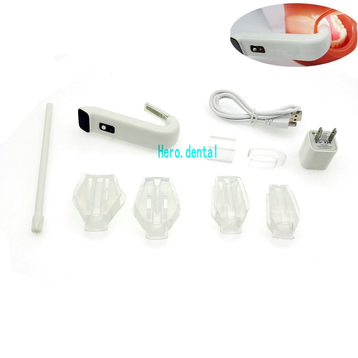 Dental Intraoral Light Plus Wireless Suction Dentist LED Lighting System Autocla