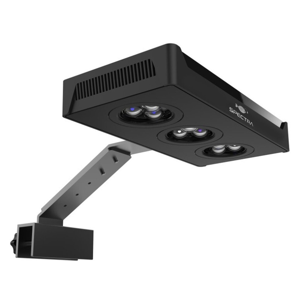 LED Spectra Nano Aquarium Light 30W Saltwater Lighting with Touch Control for Coral Reef Fish Tank US EU Plug