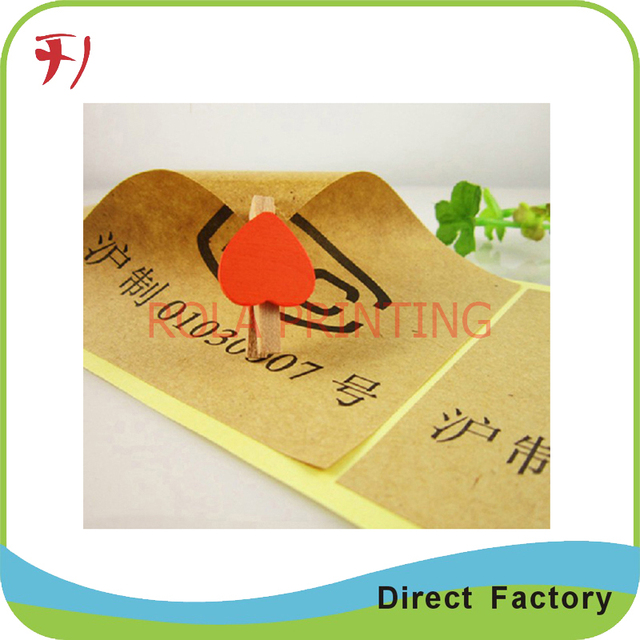 Waterproof adhesive roll vinyl sticker, glossy PP sticker with full color printing