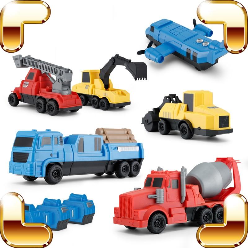 Рождественский подарок, Инженерная модель автомобилей, магнитные сборные игрушки, автомобиль для обучения детей, обучающая игра, семейные ...
