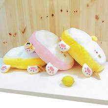 1pc 42cm Cute Corgi Butt Plush Pillow Cushion Stuffed Cartoon Animal Dog Novelty Chair Kawaii Kids Toy Doll Valentine Gift