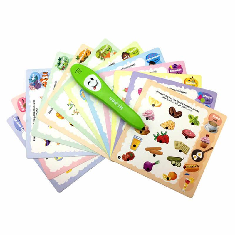Первая книга для детей Английский & Арабский двуязычного reading pen образовательных обучающие игрушки Мусульманский Коран для всех детей