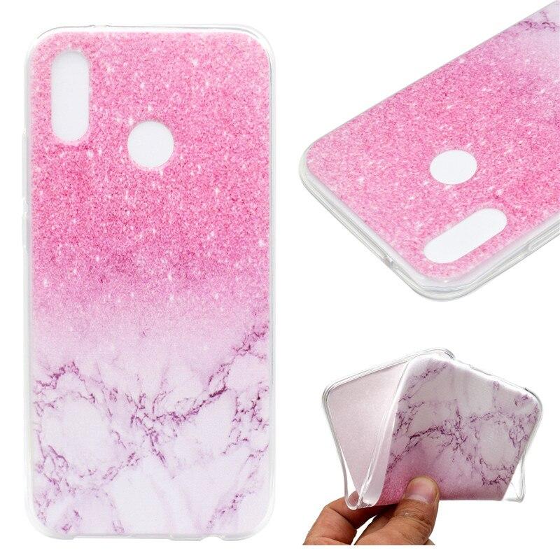 Transparan TPU Penutup Untuk Huawei P20 Lite Kasus Warna dekorasi - Aksesori dan suku cadang ponsel - Foto 4