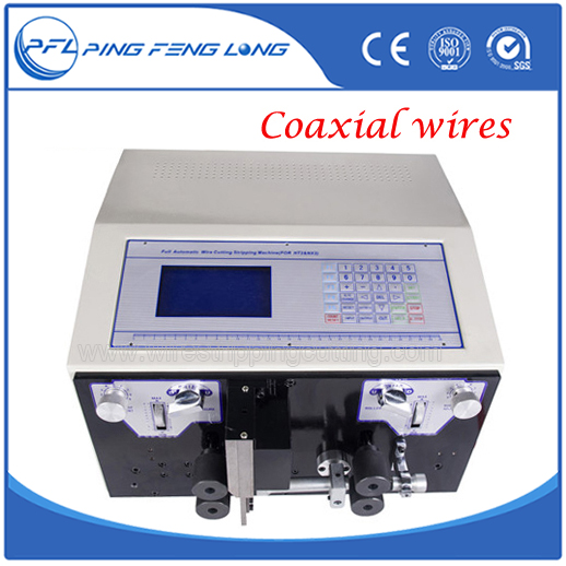 PFL 05T Double Coaxial Cable Wire Stripping Machine/Automatic Wire ...