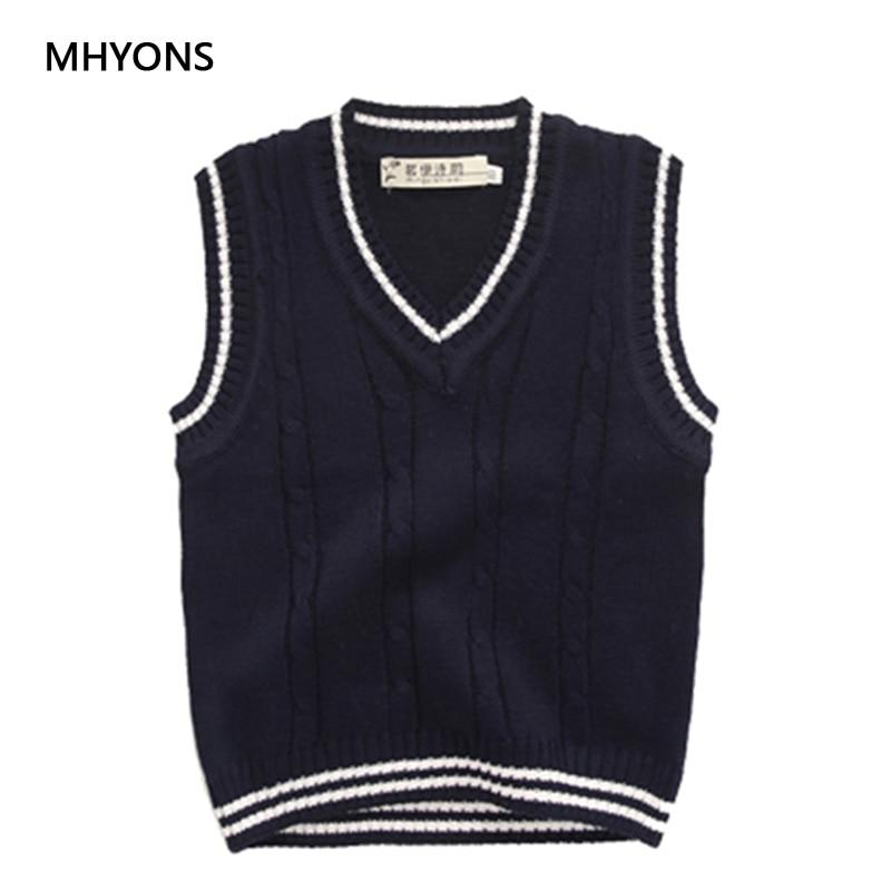 3b38f38a3974 8-12Y Sweater Vest for Girls 2018 Autumn Winter Brand Design ...