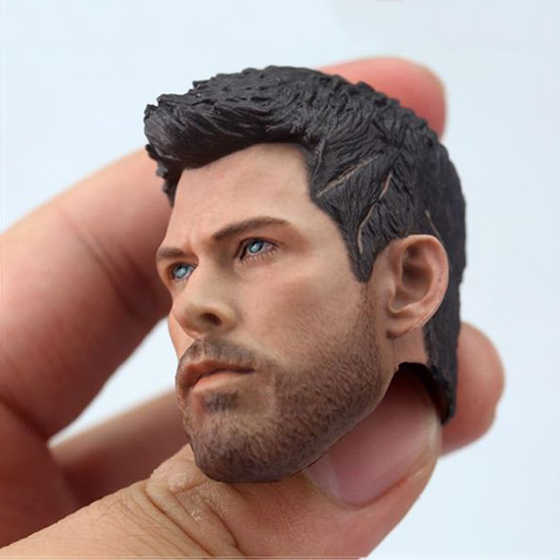 "1:6 Scale Raytheon Thor Male Head Sculpt Avengers Series Figure Fit 12"" Action Figure Body Accessories"