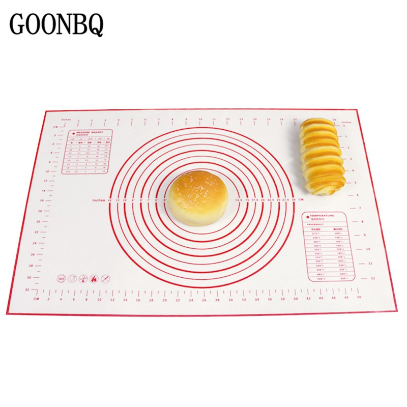 Honey 30*40 Liners Kneading Dough Mat Cooking Tool Non-stick Silicone Baking Mats Pad Baking Sheet Glass Pizza Cake Sugar Craft Pastry Latest Technology Kitchen,dining & Bar