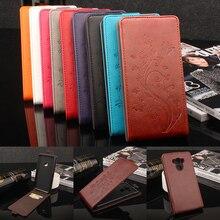 for Asus Zenfone 3 Max ZC553KL Case Flip PU Plastic Holder Inner Wallet Magnetic Pattern Vintage