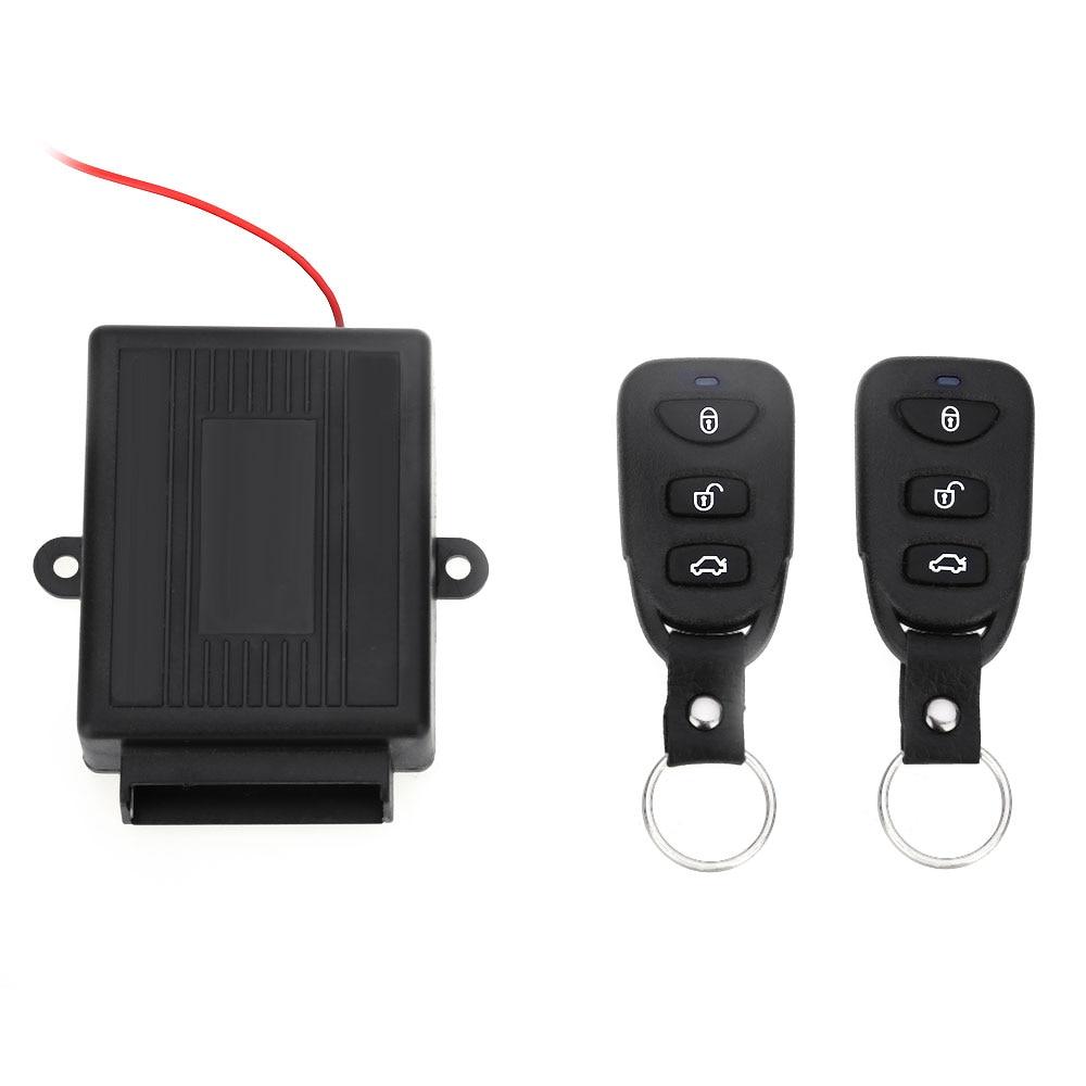 Universale Veicolo Kit Porta Centrale A Distanza di Blocco Sblocco Finestra Up Keyless Auto Sistema di Allarme Antifurto 433.92 MHz