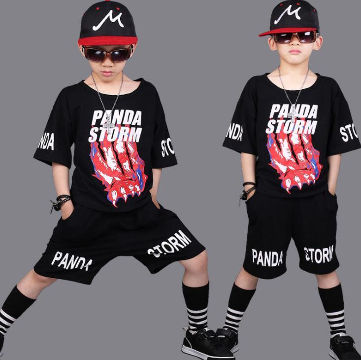 Origineel Zomer Jongens Meisjes Outfits Katoenen Kleding Trainingspak Losse Sport Dans Streetwear Losse T-shirt + Shorts Voor 8 10 112 14 Jaar Dingen Geschikt Maken Voor De Mensen