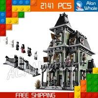 2141pcs New 16007 Haunted House DIY Model Building Blocks Minifigures Unique Elements Toys Compatible With Lego