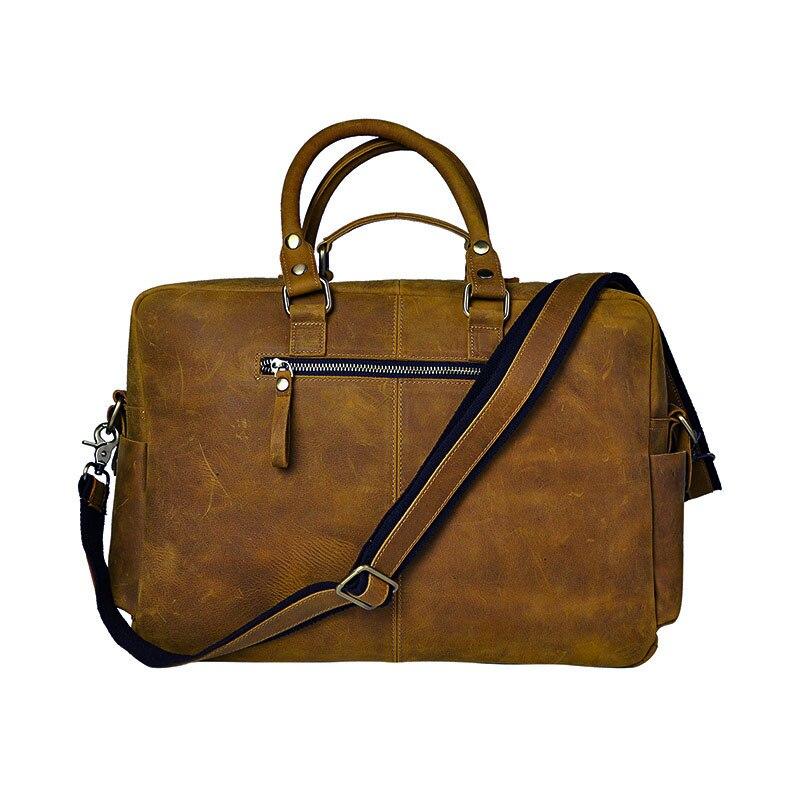HTB1j4r7dRfH8KJjy1Xbq6zLdXXaO Original leather Men Fashion Handbag Business Briefcase Commercia Document Laptop Case Design Male Attache Portfolio Bag 3061-bu