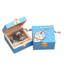 New Wood Music Box Mechanical Musical Boxes Kid