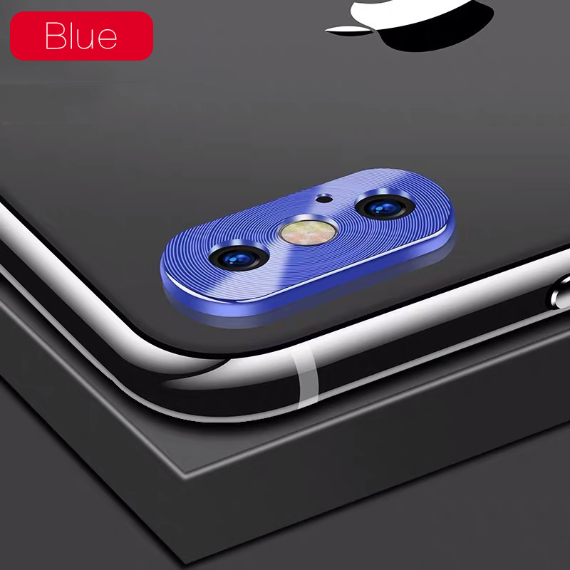 KIPX1118L_1_Metal Camera Lens Protector for iPhone X XS XR XS Max 360 Full Protection Anti-scratch Camera Protective Cover