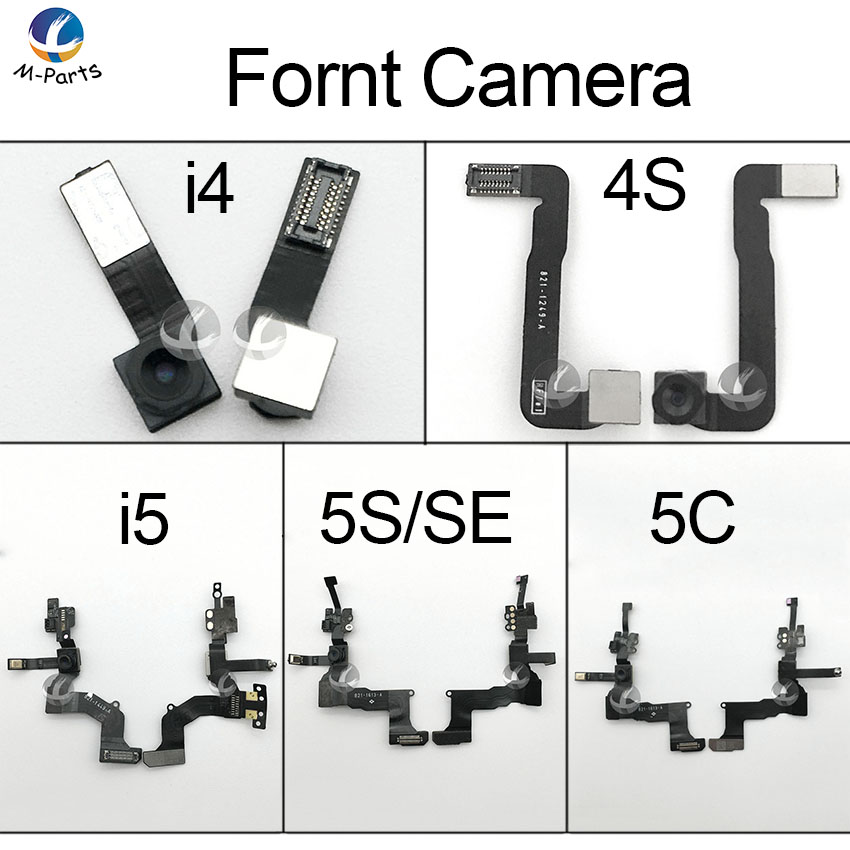 For iPhone 4 4S 5 5S 5C SE Front Facing Camera Proximity Sensor Flex Cable High Quality 100% New AAA image