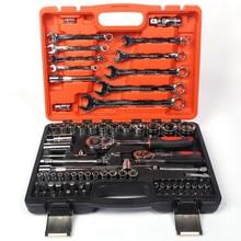 82 ピースラチェットハンドルレンチソケットレンチセット修理トルクスパナドライバービットセットのキーハンドツール