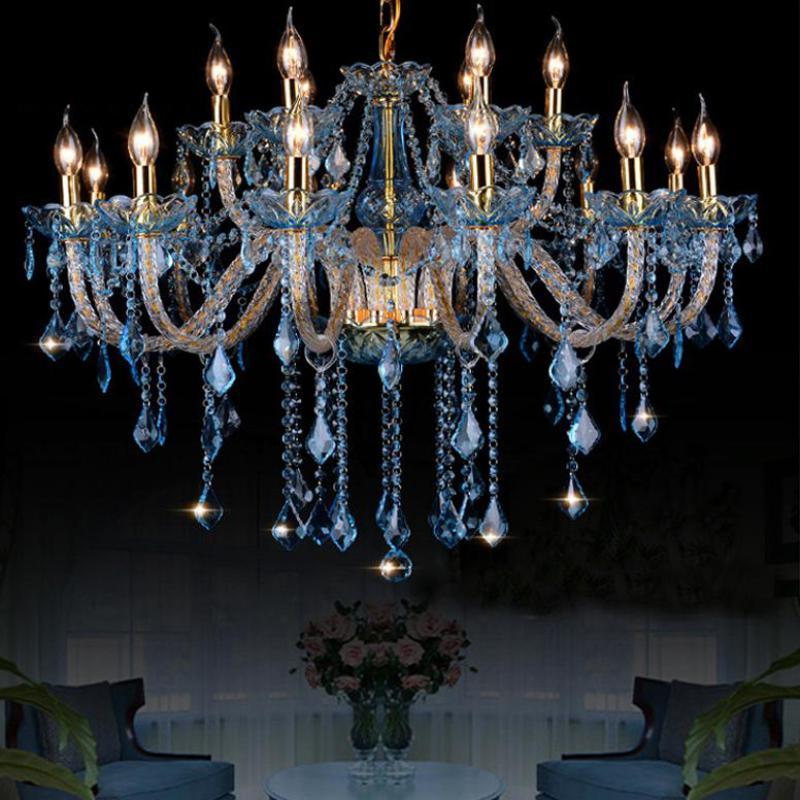 Ceiling Lights & Fans Buy Cheap Duplex Floor 30-head Modern Chandelier Lighting Crystal Lamp 1.5m Long Large Luxury Glass Chandelier Led Lamp Hall E14 Chandeliers