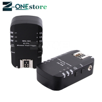 WS 16C E TTL Flash Trigger Wireless Transceiver 2.4GHz 1/8000s High Speed Sync for Canon 5D for YongNuo YN568EX etc