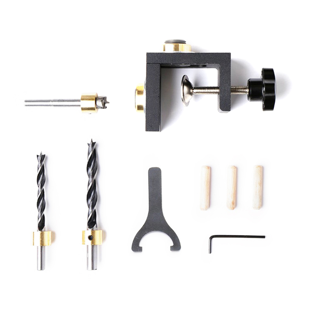 Hot Sale Furniture Puncher Woodworking Tool Diy Woodworking Joinery High Precision Dowel Jigs Kit 3 In 1 Drilling Locator Wood Boring Machinery Aliexpress