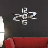 Wanduhr/dekorative spiegel acryl wandaufkleber DIY tisch modernen minimalistischen kreative persönlichkeit wohnzimmer uhren Angebote
